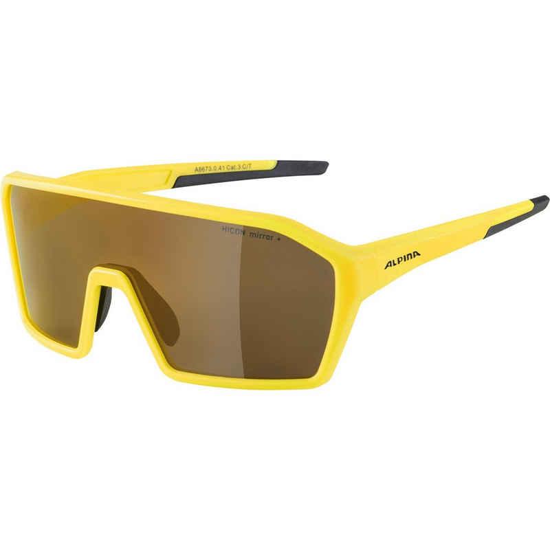 Alpina Sportbrille »RAM HM+«, Anti-Beschlag,flexibler Nasensteg,rutschsicherer Sitz,verspiegelte Gläser