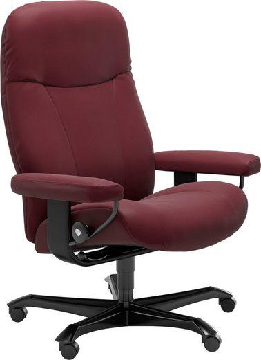 Stressless® Relaxsessel »Garda«, mit Home Office Base, Größe M, Gestell Schwarz