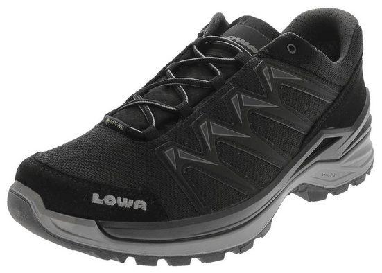Lowa »Lowa Herren Wanderstiefel Innox Pro GTX Lo wasserdichter Nordic Walking Schuhe Schwarz Grau« Outdoorschuh