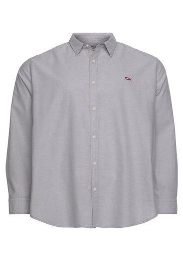 Levi's® Plus Langarmhemd »BIG BATTERY HM SHIRT« in leicht melierter Optik
