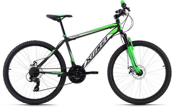 KS Cycling Mountainbike »Xtinct«, 21 Gang Shimano Tourney Schaltwerk, Kettenschaltung