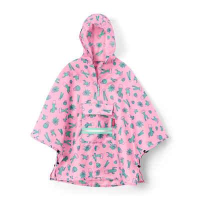 REISENTHEL® Regenponcho »mini maxi M Kids Cactus Pink«