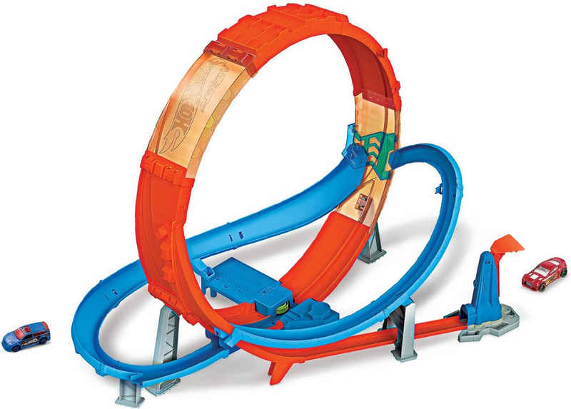 Hot Wheels Autorennbahn »Looping Crash Trackset«, inkl. 1 Spielzeugauto