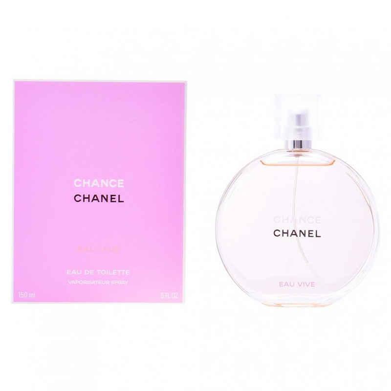 CHANEL Eau de Toilette »Chanel Chance Eau Vive Edt Spray 150ml«