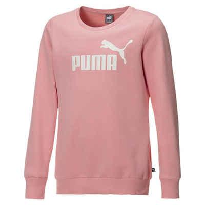 PUMA Sweater »Mädchen Fleece Sweatshirt mit Rundhals«