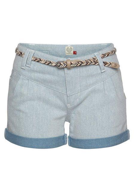 Hosen - Ragwear Shorts »HEAVEN« mit kontrastfarbigem Umschlagsaum ›  - Onlineshop OTTO