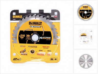 DeWalt Kreissägeblatt »Dewalt DT 99569 XR Handkreissägeblatt 216 mm / 30 mm mit 36 Zähnen«