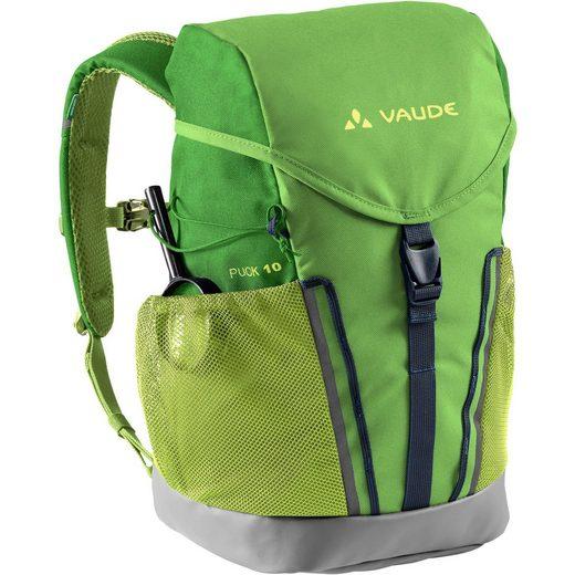 VAUDE Wanderrucksack »Puck 10«, Brustgurt,Kontaktrücken,herausnehmbare Sitzmatte,integrierte Regenhülle