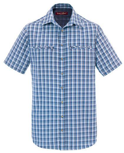 Tom Collins Trachtenhemd Herren, atmungsaktiv