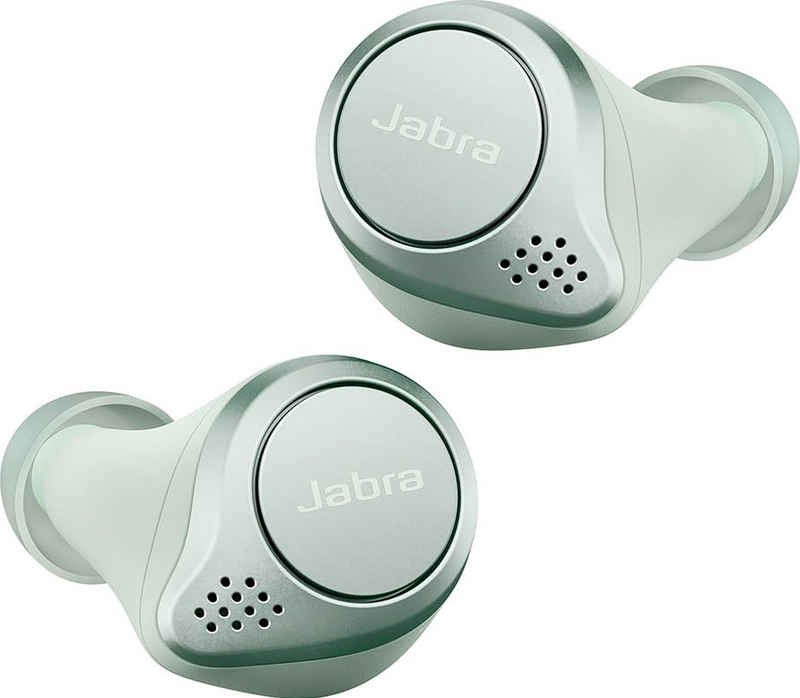 Jabra »Elite Active 75t« wireless In-Ear-Kopfhörer (True Wireless, Active Noise Cancelling (ANC), Alexa, Siri, Google Assistant, Bluetooth, Spritzwasser geschüzt, ANC - Active Noise Cancellation)