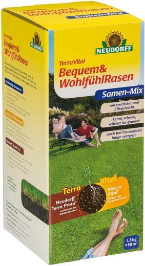 Neudorff Rasensamen »TerraVital Bequem&Wohlfühl«, 1,5 kg