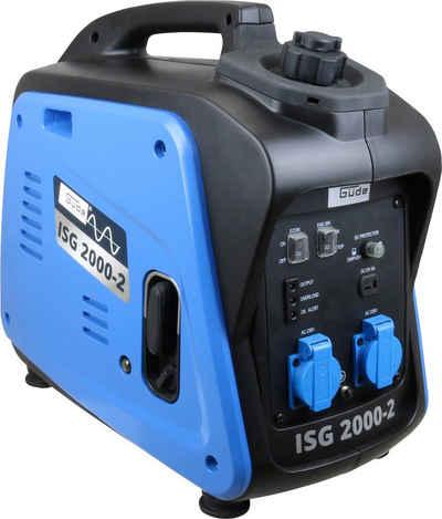 Güde Stromerzeuger »ISG 2000-2«, 2,11 in kW, inkl. zwei 230 V Steckdosen und Ladekabel