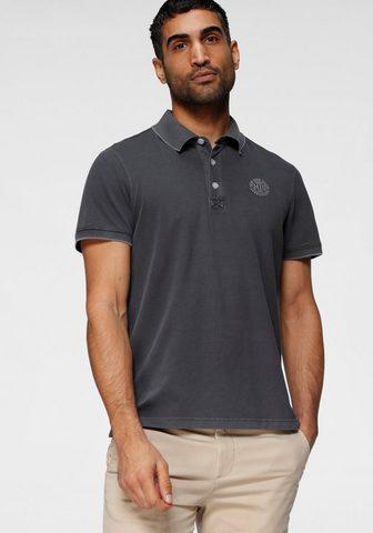 H.I.S Polo marškinėliai in gewaschener imita...