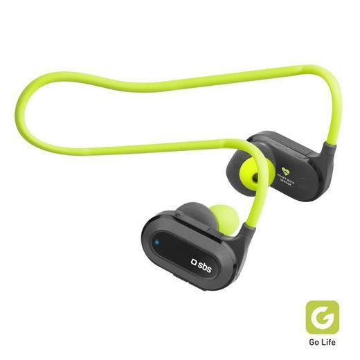 sbs »SBS Wireless Sport Kopfhörer mit mit Herzfrequenzmesser und Multifunktionstaste, Bluetooth 4.2, perfekt zum Trainieren« Sport-Kopfhörer