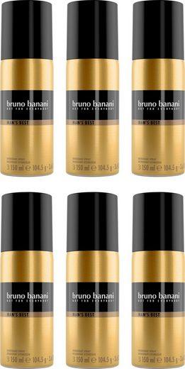 Bruno Banani Deo-Spray »Man's Best«, Set, 6-tlg.