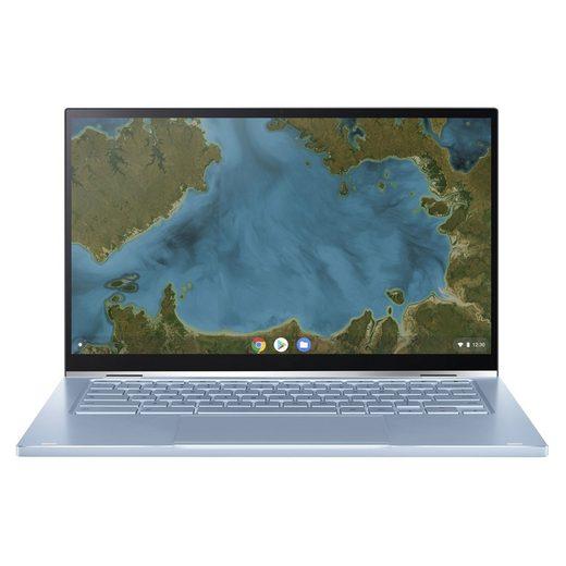 Asus Chromebook Flip C433TA-AJ0156 Convertible Notebook (35,56 cm/14 Zoll, Intel Core m3, HD, 0 GB SSD)