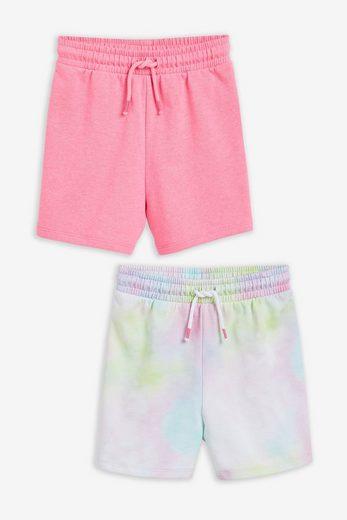 Next Sweatshorts »Shorts aus Loopback-Jersey, 2er-Pack« (2-tlg)