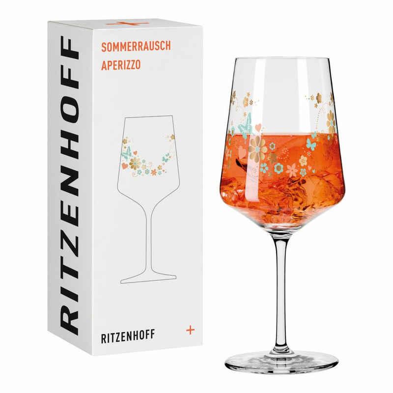 Ritzenhoff Aperitifglas »Sommerrausch Aperizzo 001«, Kristallglas, Made in Germany