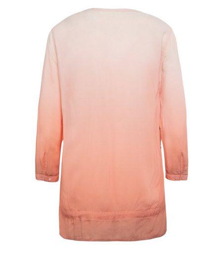 SOCCX Shirtbluse mit verstellbaren Knopfmanschetten