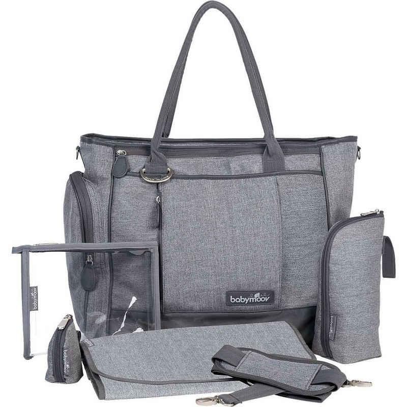 BABYMOOV Wickeltasche »Wickeltasche Essential Bag, grau meliert«