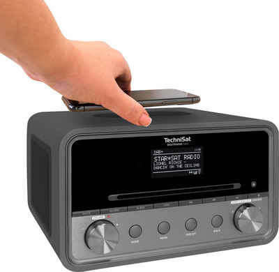 TechniSat »DIGITRADIO 584 Stereo« Internet-Radio (Digitalradio (DAB), UKW mit RDS, Internetradio, CD, Bluetooth, Farbdisplay, USB, Wireless Charging, Alexa-Sprachsteuerung)