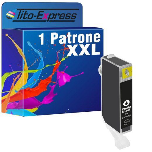 Tito-Express PlatinumSerie »ersetzt Canon CLI-526 CLI526 CLI 526 XL (4540B001) Photoblack« Tintenpatrone