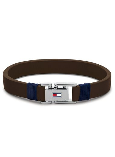 TOMMY HILFIGER Armband »CASUAL, 2790227S, 2790227L«, mit Emaille