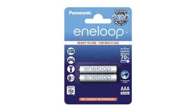 Sanyo »Panasonic eneloop Akku AAA-Micro 2er-Pack« Akku