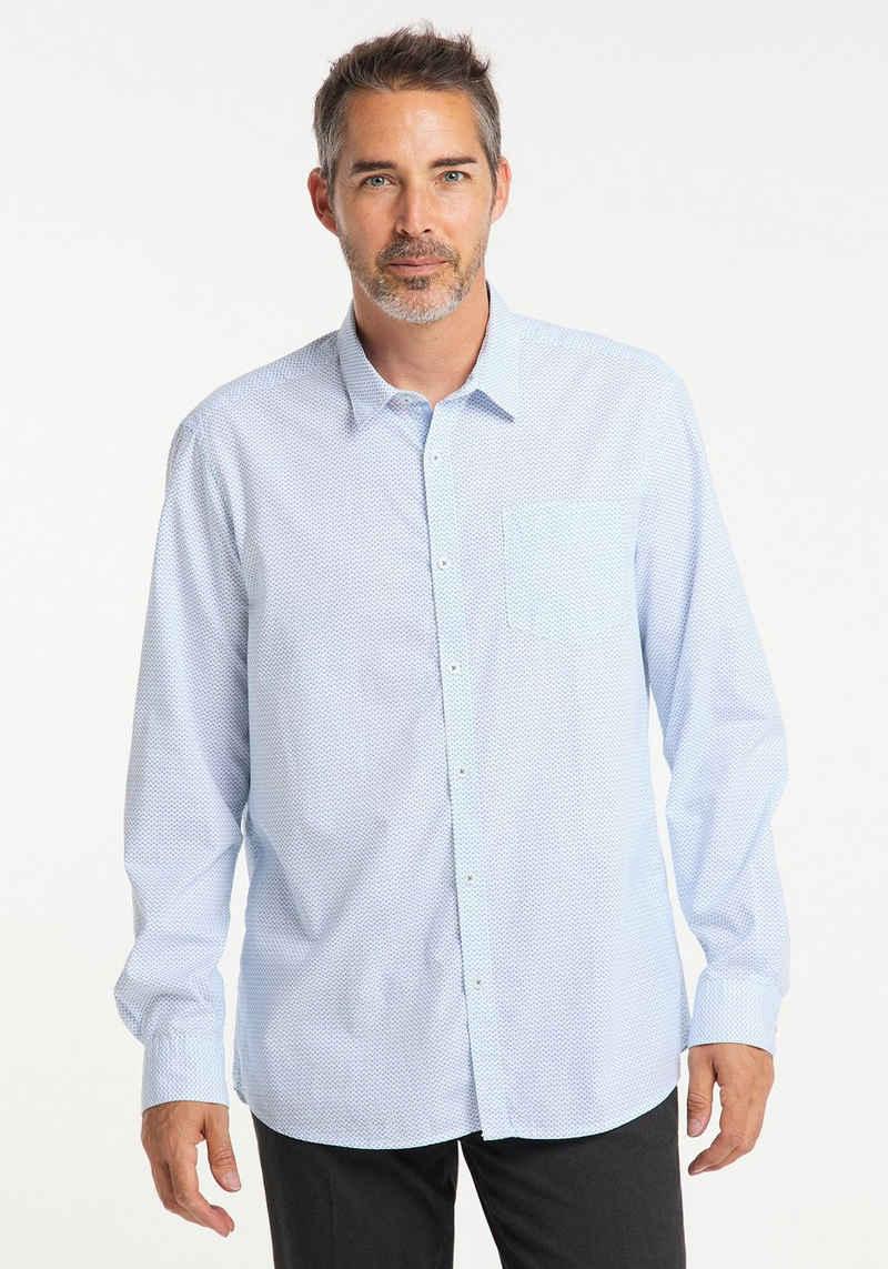 Pioneer Authentic Jeans Langarmhemd »Basic-Hemd«
