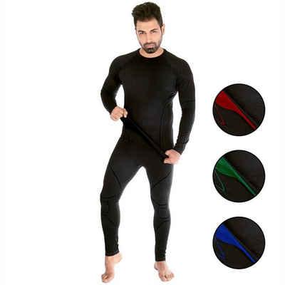 Black Snake Funktionsunterhemd »neverest«, Funktionsunterwäsche Set Seamless Unterhemd + Unterhose