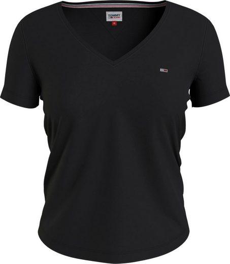 Tommy Jeans V-Shirt mitTommy Jeans Logo-Flag