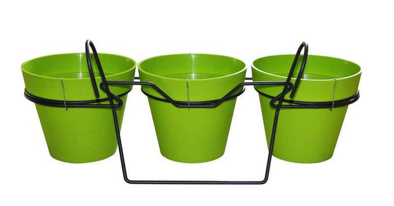 ONDIS24 Blumentopf »Balkonkasten Blumentopf Toskane 3er Set«