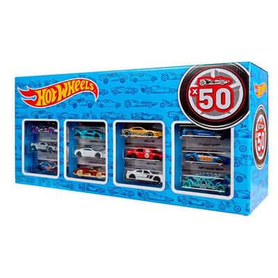 Mattel® Spielzeug-Auto »Mattel CGN22 - Hot Wheels - Die-Cast Fahrzeuge, Geschenkset je 50 Spielzeugautos, zufällige Auswahl«
