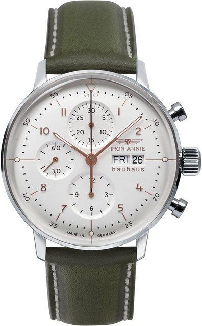IRON ANNIE Chronograph »Bauhaus ETA Valjox 7750, 5018-4O«, Exklusiv Artikel   Uhren > Chronographen   IRON ANNIE