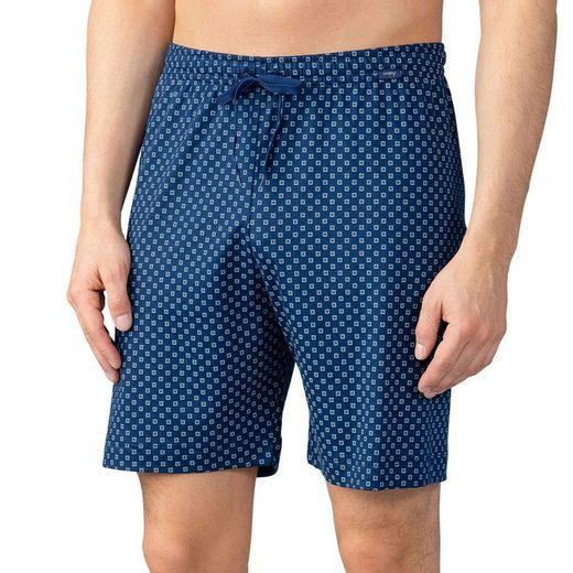 Mey Schlafhose »Basic Lounge Nightwear Mix & Match« Komfortbund mit Kordelzug, Mit Minimalprint, Legere Passform