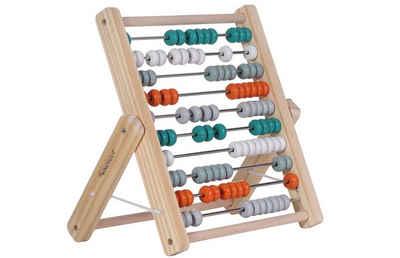 Kindsgut Rechenschieber »Abakus Rechenschieber«, Holz-Lern-Rechenschieber, petrol, kognitive Fähigkeiten, Lern-Spielzeug für Klein-Kinder, umweltfreundlich