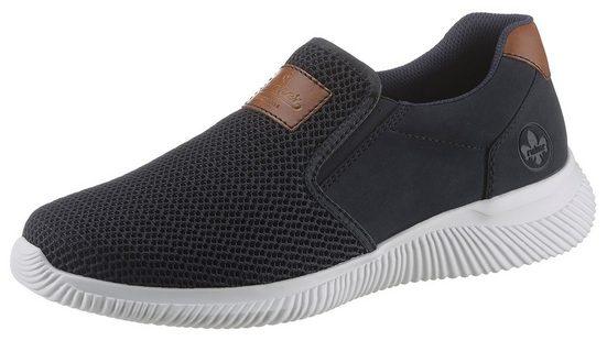 Rieker Sneaker mit Kontrastbesatz