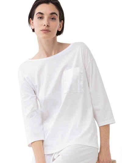 Mey Pyjamaoberteil »Shirt mit 3/4-Ärmel« (1-tlg) Made in Europe