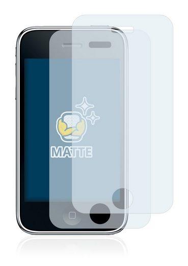 BROTECT Schutzfolie »für Apple iPhone 3GS«, (2 Stück), Folie Schutzfolie matt entspiegelt