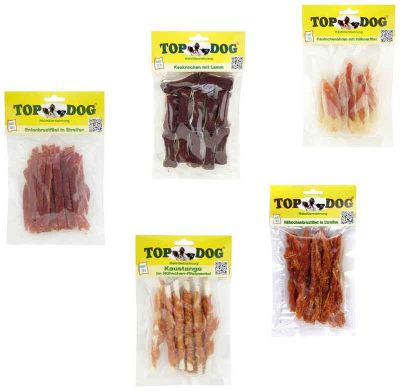 TOP DOG Hundesnack »Snack Pack«, 5-teilig