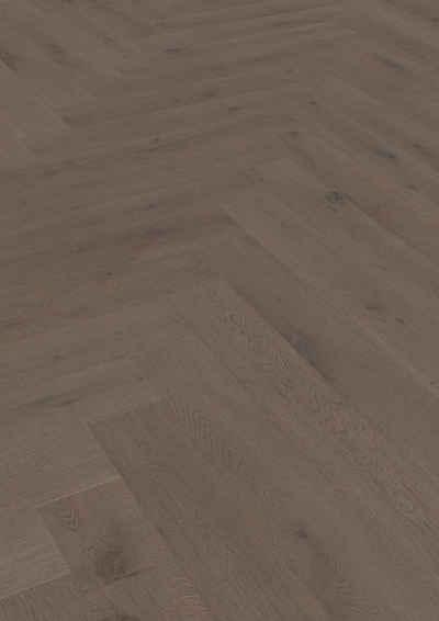 ter Hürne Parkett »Eiche basaltbraun«, mit fühlbarer Oberfläche