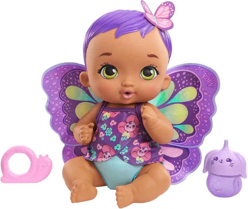 Mattel® Babypuppe »My Garden Baby, Lila Schmetterling«