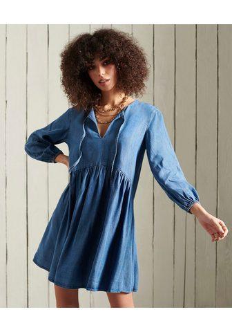 Superdry Džinsinė suknelė »LS TENCEL suknelė