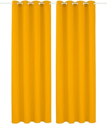 Vorhang »Raja«, my home, Ösen (2 Stück)