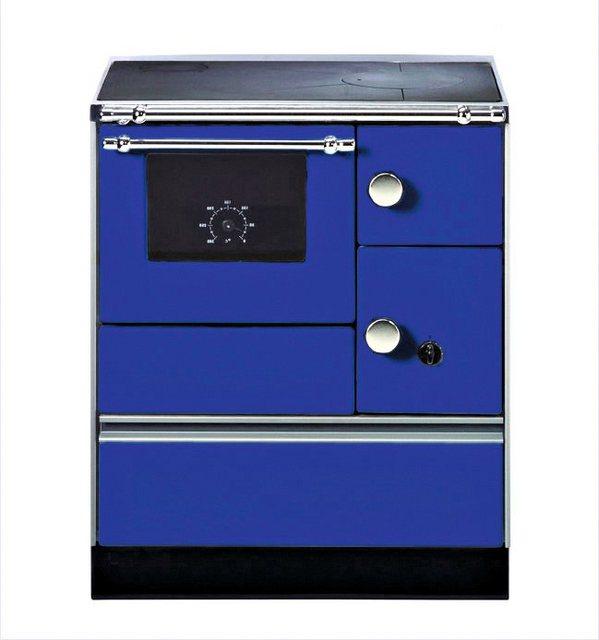 Westminster Festbrennstoffherd K 176 5 kW, Dauerbrand, blau