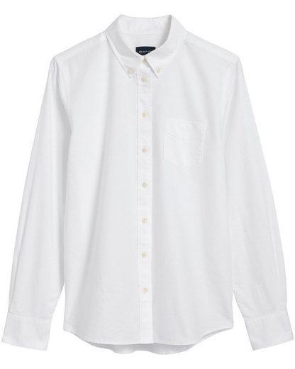 Gant Hemdbluse »Oxford-Bluse mit Brusttasche«