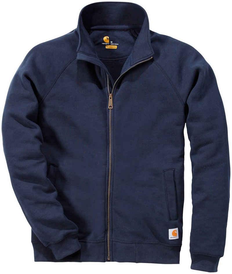 Carhartt Sweater »K350 Midweight Mock Neck Zip Front Sweatshirtjacke«