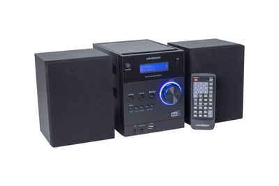Universum »MS 300-21 black« Audio-System (DAB+ UKW Radio, Bluetooth, USB, AUX-In, Kopfhörerausgang)