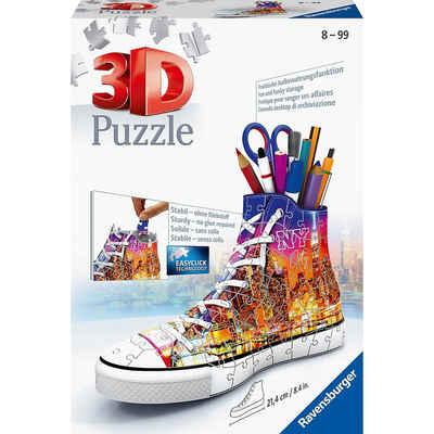 Ravensburger 3D-Puzzle »3D-Puzzle Sneaker Utensilo, H12 cm, 108 Teile,«, Puzzleteile