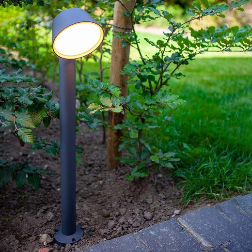 Lutec LED Pollerleuchte »Dakota IP54 Ø 8,9cm«